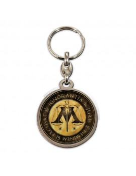 Harry Potter Metal Keychain Ministry of Magic