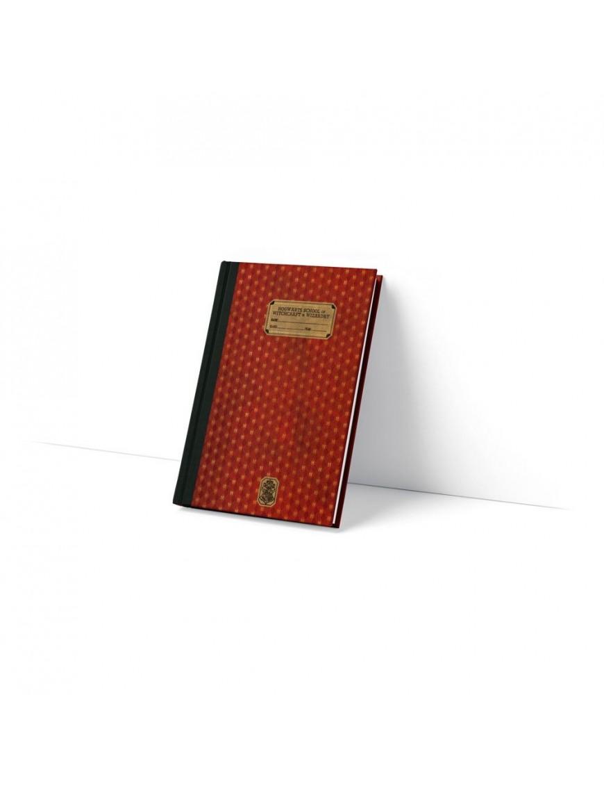 Harry Potter Premium Notebook 1910 Gryffindor Exercise Book