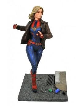 Captain Marvel Marvel Movie Premier Collection Statue Captain Marvel 28 cm
