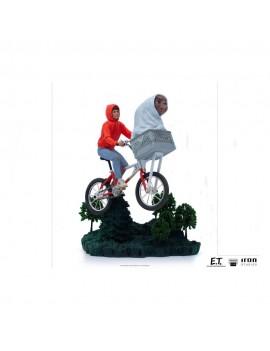 E.T. the Extra-Terrestrial Art Scale Statue 1/10 E.T. & Elliot 24 cm