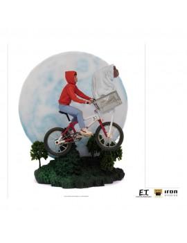 E.T. the Extra-Terrestrial Deluxe Art Scale Statue 1/10 E.T. & Elliot 27 cm
