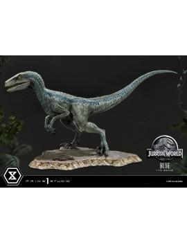 Jurassic World: Fallen Kingdom Prime Collectibles Statue 1/10 Blue (Open Mouth Version) 17 cm