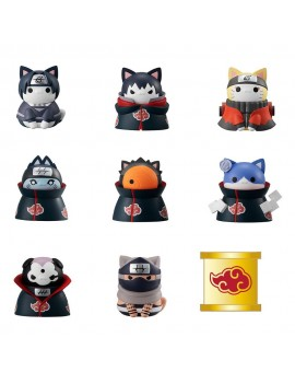 Naruto Shippuden Mega Cat Project Trading Figures Nyaruto! Special Set 3 cm