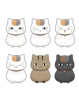 Natsume's Book of Friends Chokorin Mascot Series Trading Figure 6-Pack 5 cm