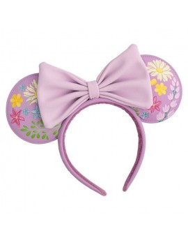 Disney by Loungefly Headband Minnie Embroidered Flowers