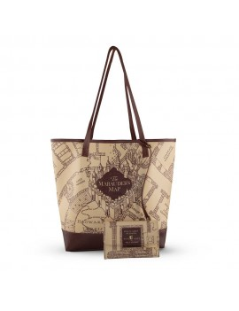Harry Potter Shopping Bag & Pouch Marauder's Map