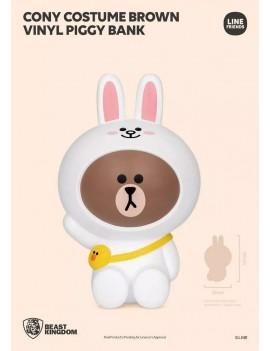 Line Friends Series Vinyl Piggy Bank Cony Costume Brown 40 cm