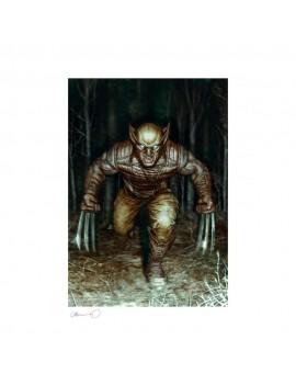 Marvel Art Print Wolverine 46 x 61 cm - unframed