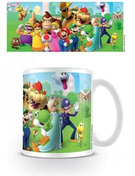 Super Mario Mug Mushroom Kingdom