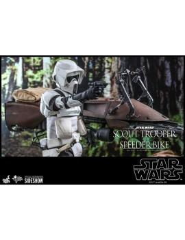 Star Wars Episode VI Action Figure 1/6 Scout Trooper & Speeder Bike 30 cm