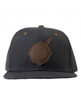 Outriders Snapback Cap Symbol Faux Leather Patch