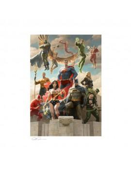 DC Comics Art Print Justice League: Classic Variant 46 x 61 cm - unframed