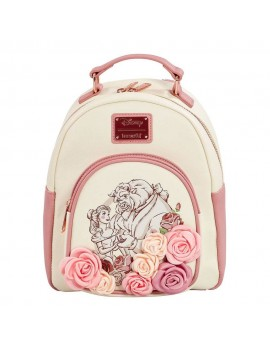 Disney by Loungefly Backpack Beauty and the Beast Flowers heo Exclusive