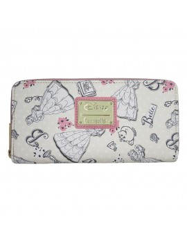 Disney by Loungefly Wallet Beauty and the Beast Creme heo Exclusive