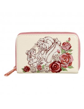Disney by Loungefly Wallet Beauty and the Beast Flowers heo Exclusive