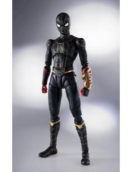 Spider-Man: No Way Home S.H. Figuarts Action Figure Spider-Man Black & Gold Suit (Special Set) 15 cm