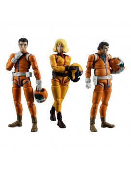 Mobile Suit Gundam G.M.G. Action Figure 3-Pack Earth Federation Force 10 cm
