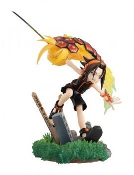 Shaman King Lucrea PVC Statue Yoh Asakura 18 cm