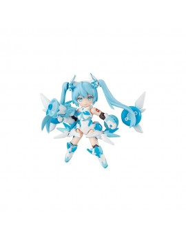 Snow Miku Desktop Singer Figures 8 cm Assortment (3)