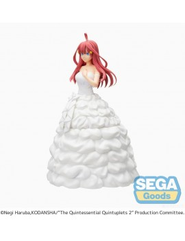 The Quintessential Quintuplets SPM PVC Statue Itsuki Nakano Bride Ver. 21 cm