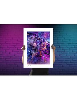DC Comics Art Print Birds of Prey by John Keaveney 46 x 61 cm - unframed