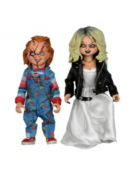 Bride of Chucky Clothed Action Figure 2-Pack Chucky & Tiffany 14 cm