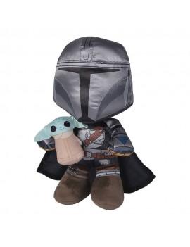 Star Wars: The Mandalorian Plush Figure Manda+Grogu 25 cm