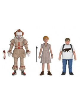 Stephen King's It 2017 Action Figures 3-Pack Pennywise, Ben, Beverly 10 cm