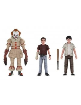Stephen King's It 2017 Action Figures 3-Pack Pennywise, Richie, Eddie 10 cm