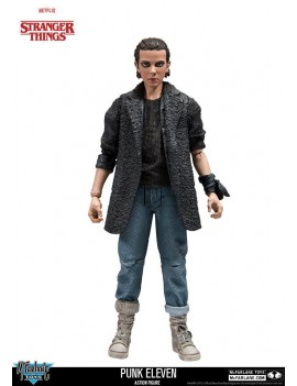 Stranger Things Action Figure Punk Eleven 15 cm