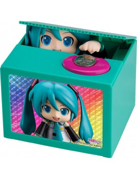 Character Vocal Series 01 PVC Talking Coin Bank Mikudayo 12 cm