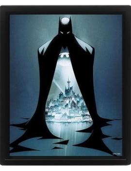 DC Comics Framed 3D Effect Poster Pack Batman Gotham Protector 26 x 20 cm (3)