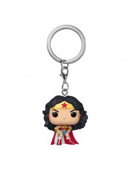 DC Comics Pocket POP! Vinyl Keychains 4 cm Wonder Woman 80th Anniversary Display (12)