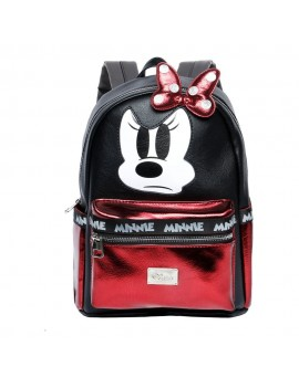 Disney Fashion Backpack Minnie Mouse Angry Face