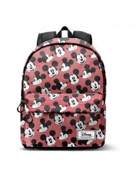 Disney HS Backpack Mikey Mouse Blinks Rot