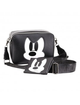 Disney IBiscuit Shoulder Bag & Card Holder / Mini Purse Mickey Mouse Mickey Mouse Angry Face