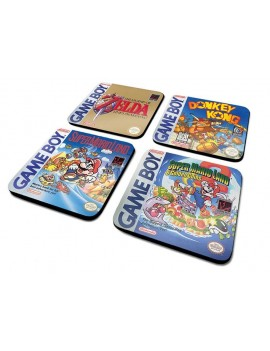 Gameboy Coaster 4-Pack Classic Collection