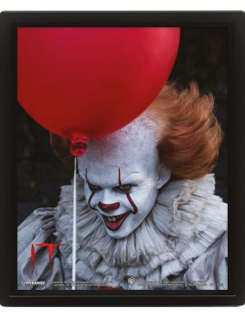 It Framed 3D Effect Poster Pack Pennywise 26 x 20 cm (3)