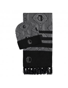 League of Legends Beanie & Scarf Set All-Over Pattern