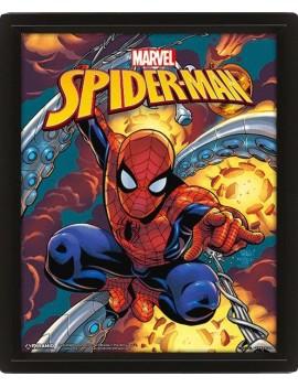 Marvel Framed 3D Effect Poster Pack Spider-Man 26 x 20 cm (3)