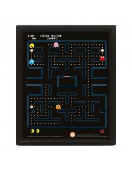 Pac-Man Framed 3D Effect Poster Pack Maze 26 x 20 cm (3)