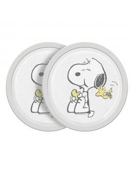 Peanuts Plate Cute & Cuddly 2-Pack