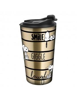 Peanuts Travel Mug Smile Giggle Laugh