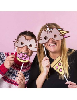 Pusheen Party Photo Booth Kit