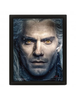 The Witcher Framed 3D Effect Poster Pack Intertwined 26 x 20 cm (3)
