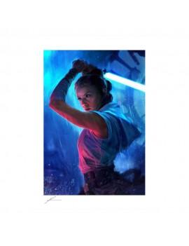 Star Wars Art Print The Duel: Rey 46 x 61 cm - unframed