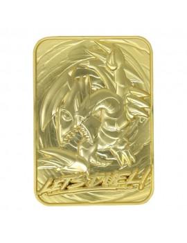 Yu-Gi-Oh! Replica Card Blue Eyes Toon Dragon (gold plated)