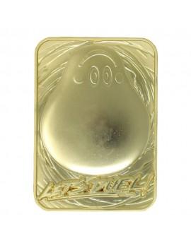 Yu-Gi-Oh! Replica Card Marshmallon (gold plated)