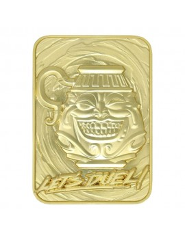 Yu-Gi-Oh! Replica Card Pot of Greed (gold plated)