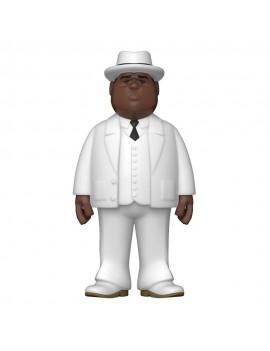 Notorious B.I.G. Vinyl Gold Figure Biggie Smalls White Suit 30 cm